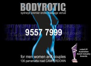 BODYROTIC - Sydney's premier erotic massage venue,